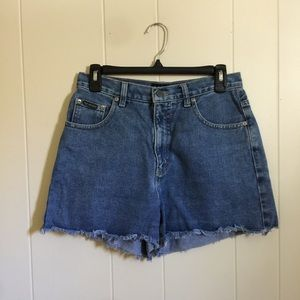 Vintage 90's cut off jean shorts 8